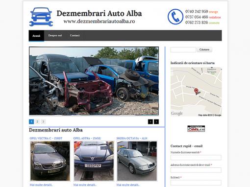 Dezmembrari auto Alba