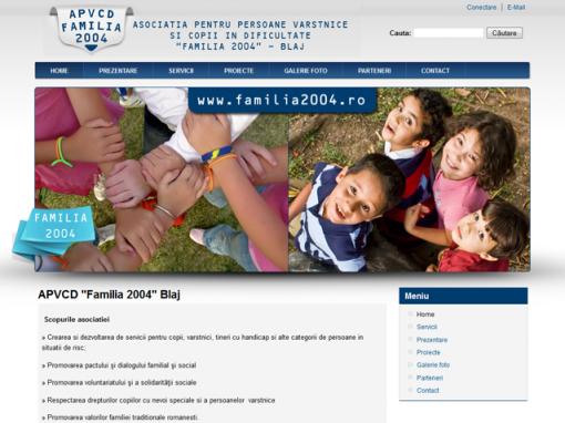 APVCD Familia 2004 Blaj