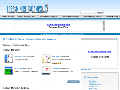 Free Miniclip Games
