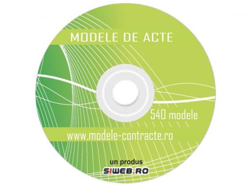 CD Modele Acte
