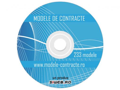 CD Modele Contracte