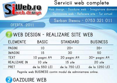 Flyer – oferta SiWeb